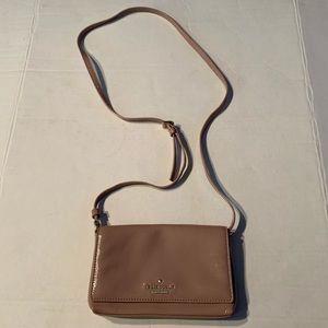 Kate ♠️ Spade Nude Patent Leather Crossbody.